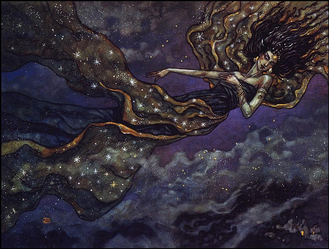 Ребекка Гуау. Небесный дух