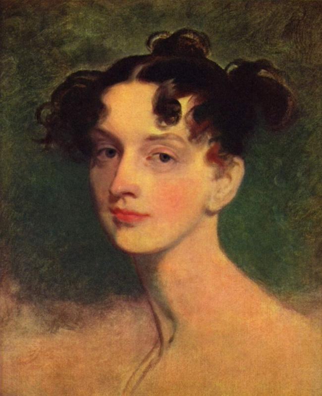 Thomas Lawrence. Portrait of Princess Lieven