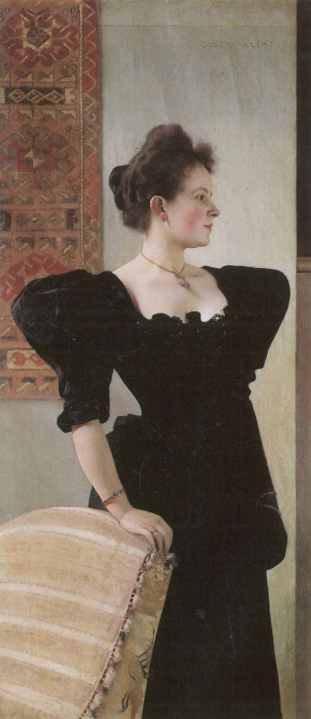 Gustav Klimt. Portrait Of Marie Breunig