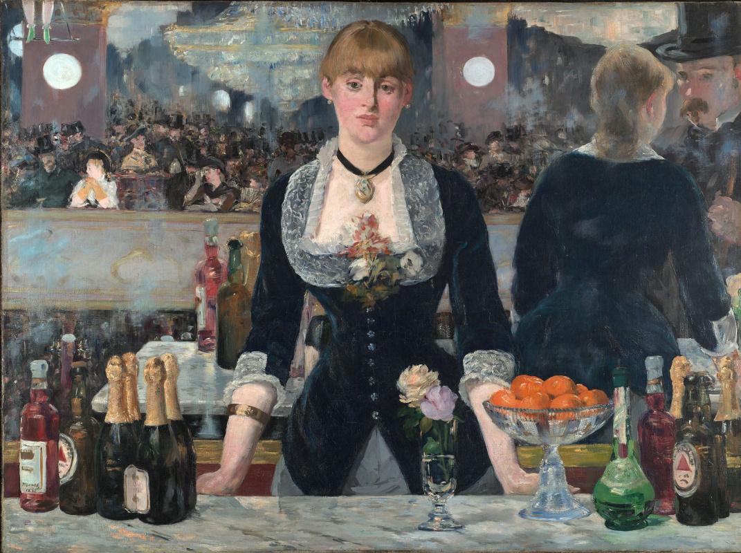 Edouard Manet. Bar at the Folies-bergère