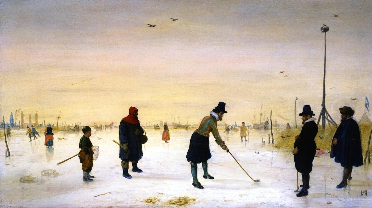 Hendrik Avercamp. The game of Golf on ice