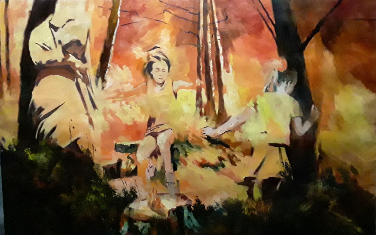 "Alexandra Efimova. ""Forest"""