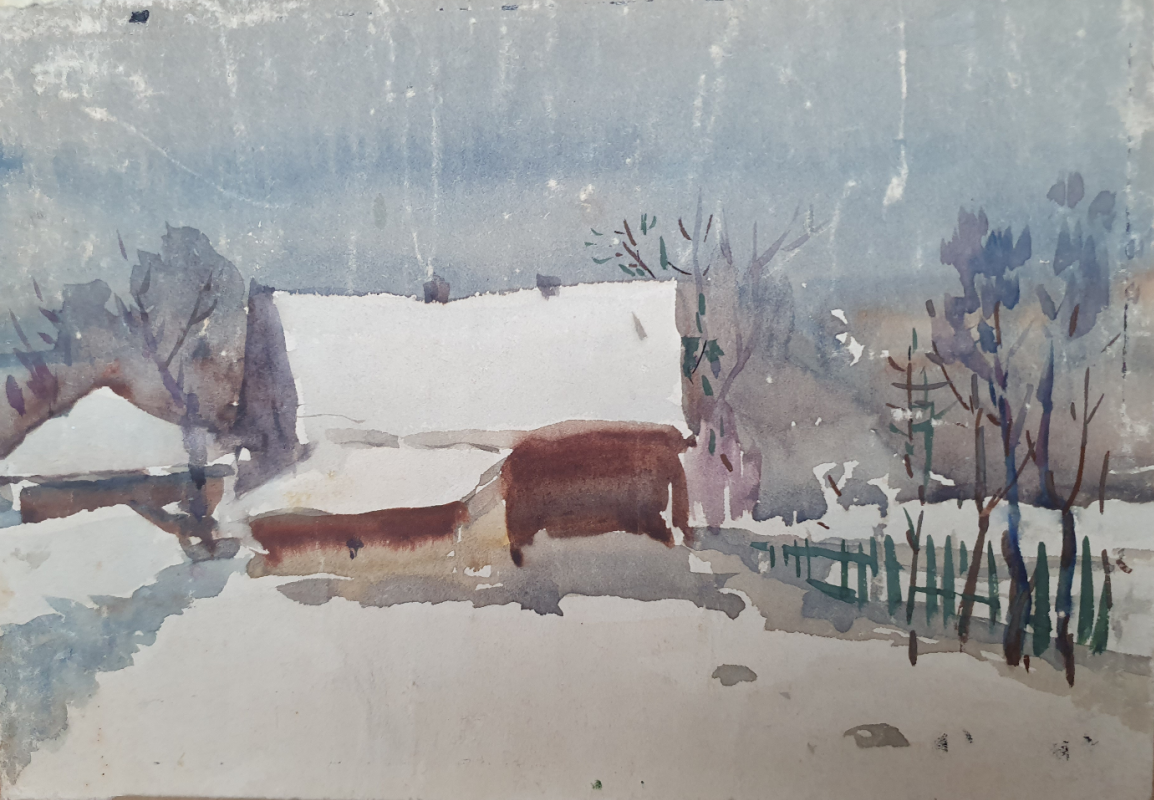David Pilko. Winter