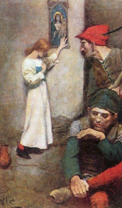 Говард Пайл. Жанна д'Арк в тюрьме