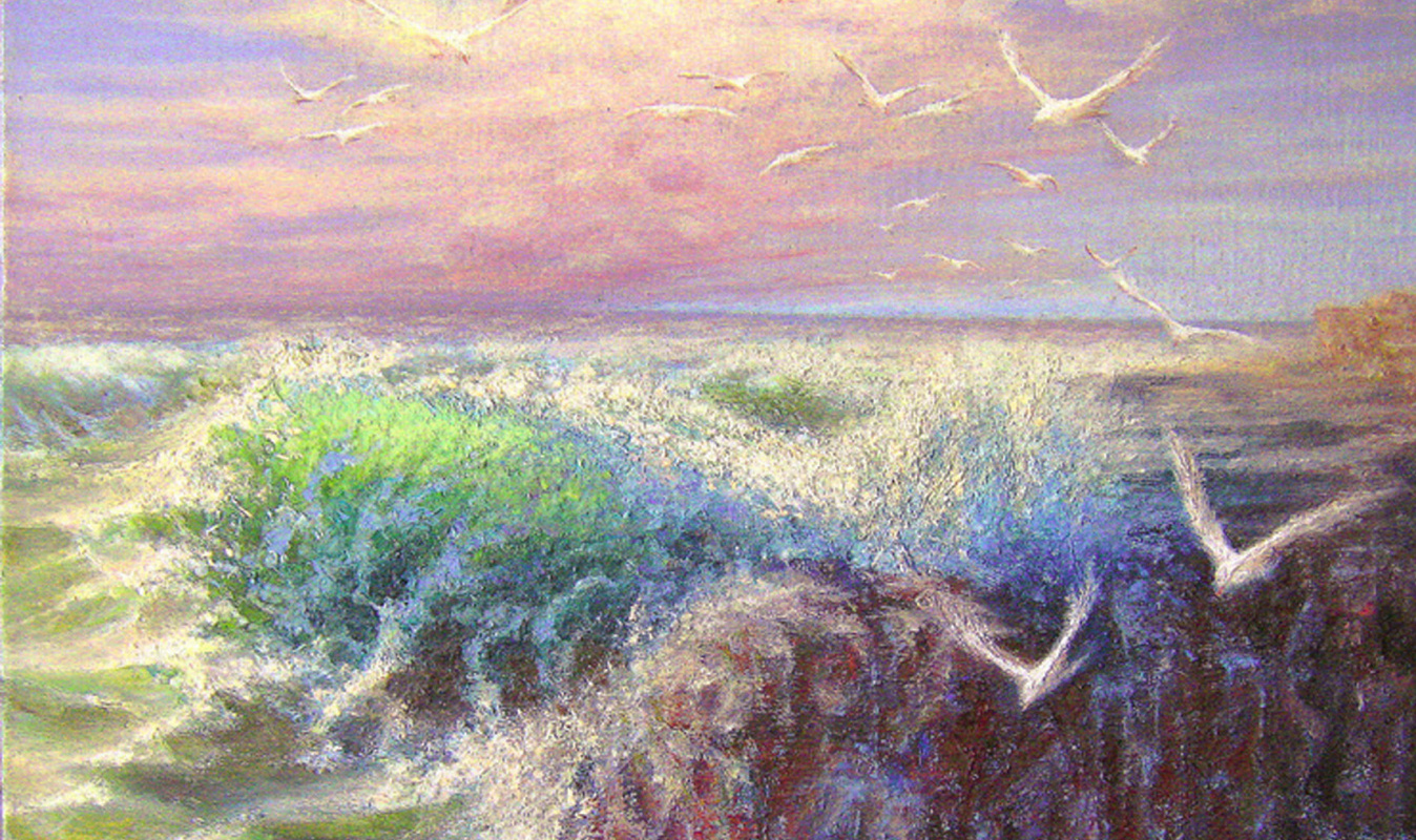 Andrei Ivanovich Boravik. To his native shores (fragment)