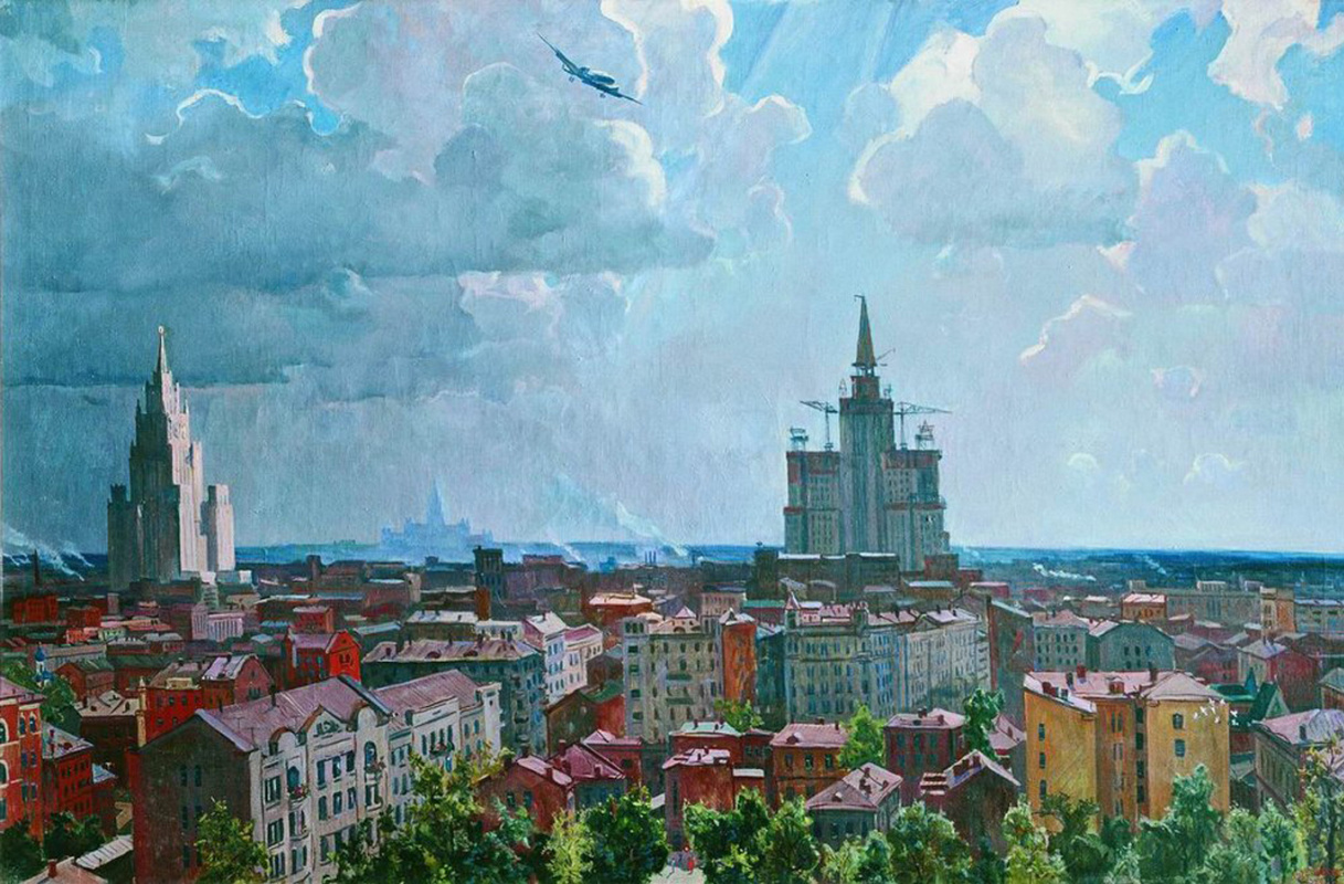 Александр Александрович Дейнека. Москва