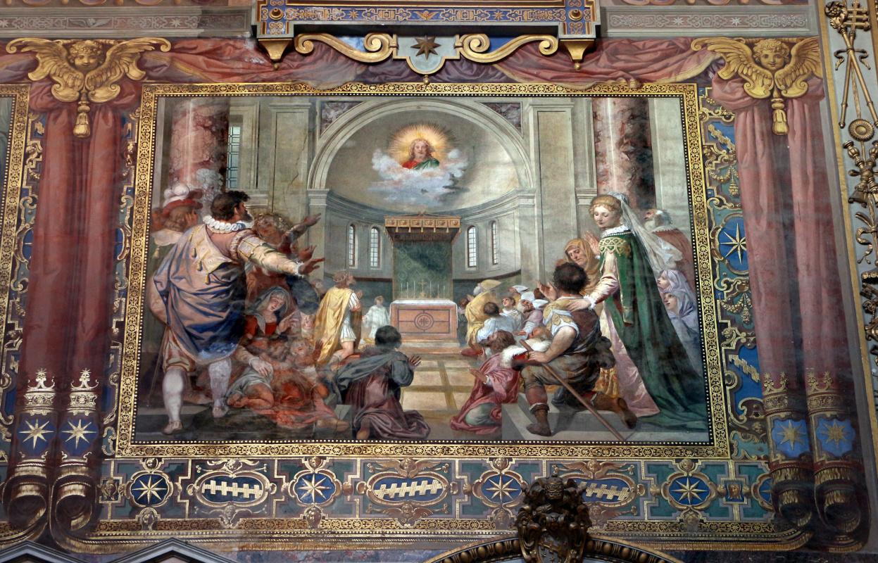 Джованни Бальоне (Баглионе). Богоявление. Роспись Латеранской базилики собора Святого Иоанна Крестителя в Риме