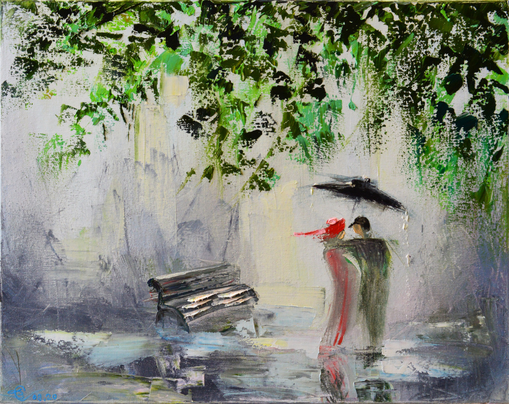 Vadim Anatolyevich Stolyarov. And rain is not a hindrance to them