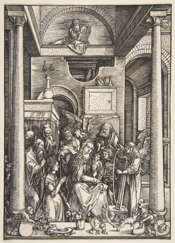 Альбрехт Дюрер. Прославление Девы Марии