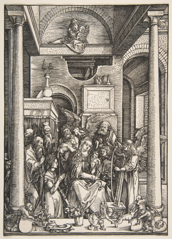 Albrecht Dürer. The Glorification Of The Virgin Mary