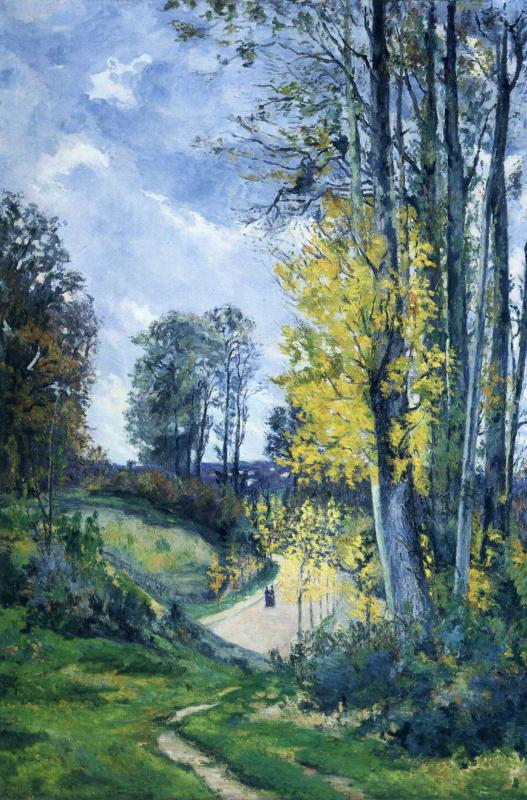 Арман Гийомен. Осенний пейзаж