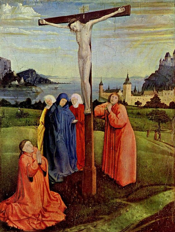 Conrad (Witz) Vic. The crucifixion