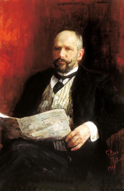 Ilya Efimovich Repin. Portrait Of P. A. Stolypin