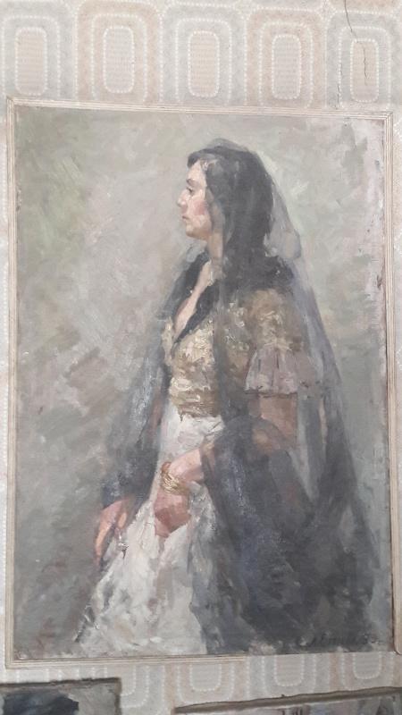 Лидия Леонтьевна Егорова. Испанка