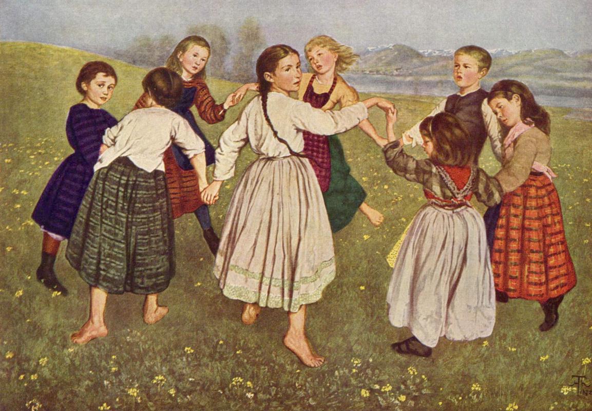 Hans Toma. Children's dance