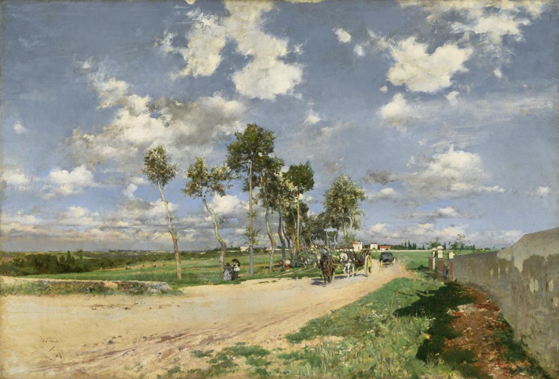 Giovanni Boldini. Road from Combe-la-Ville