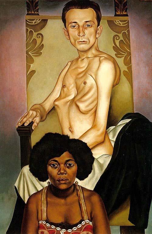 Кристиан Шад. Мужчина и женщина