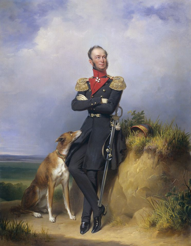 Ян Адам Круземан. Виллем II (1792-1849), король Нидерландов.