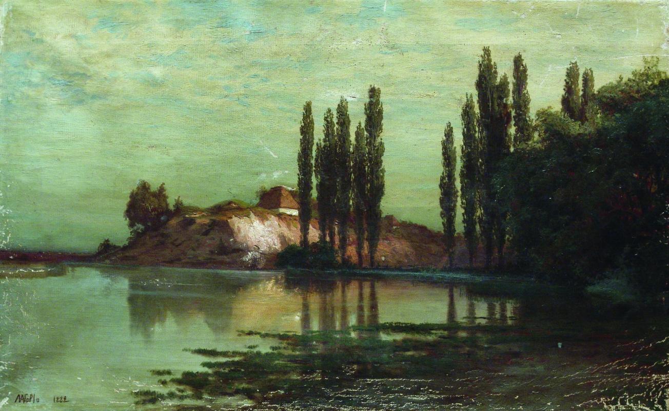 Лев Феликсович Лагорио. Украинский пейзаж
