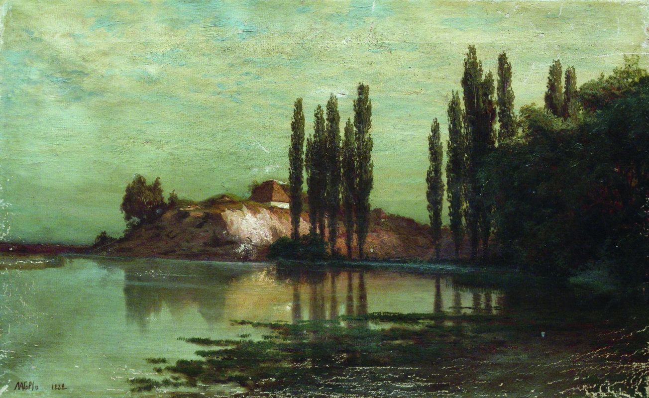 Lev Feliksovich Lagorio. Ukrainian landscape