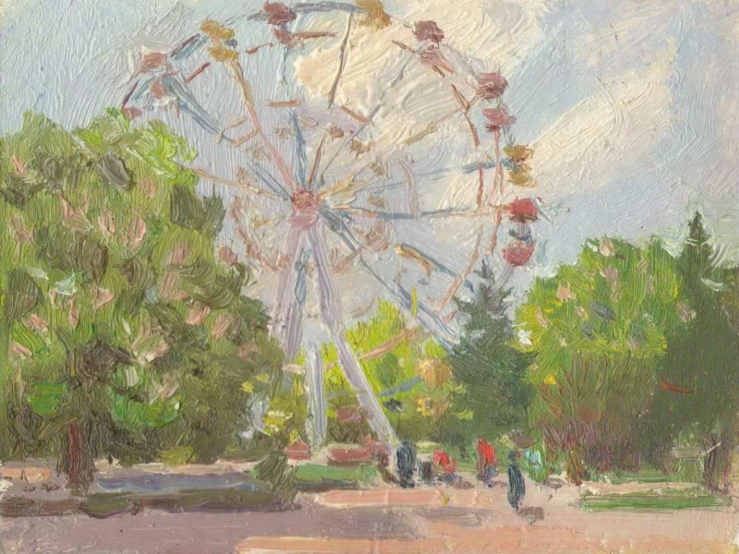 Unknown artist. Ferris wheel