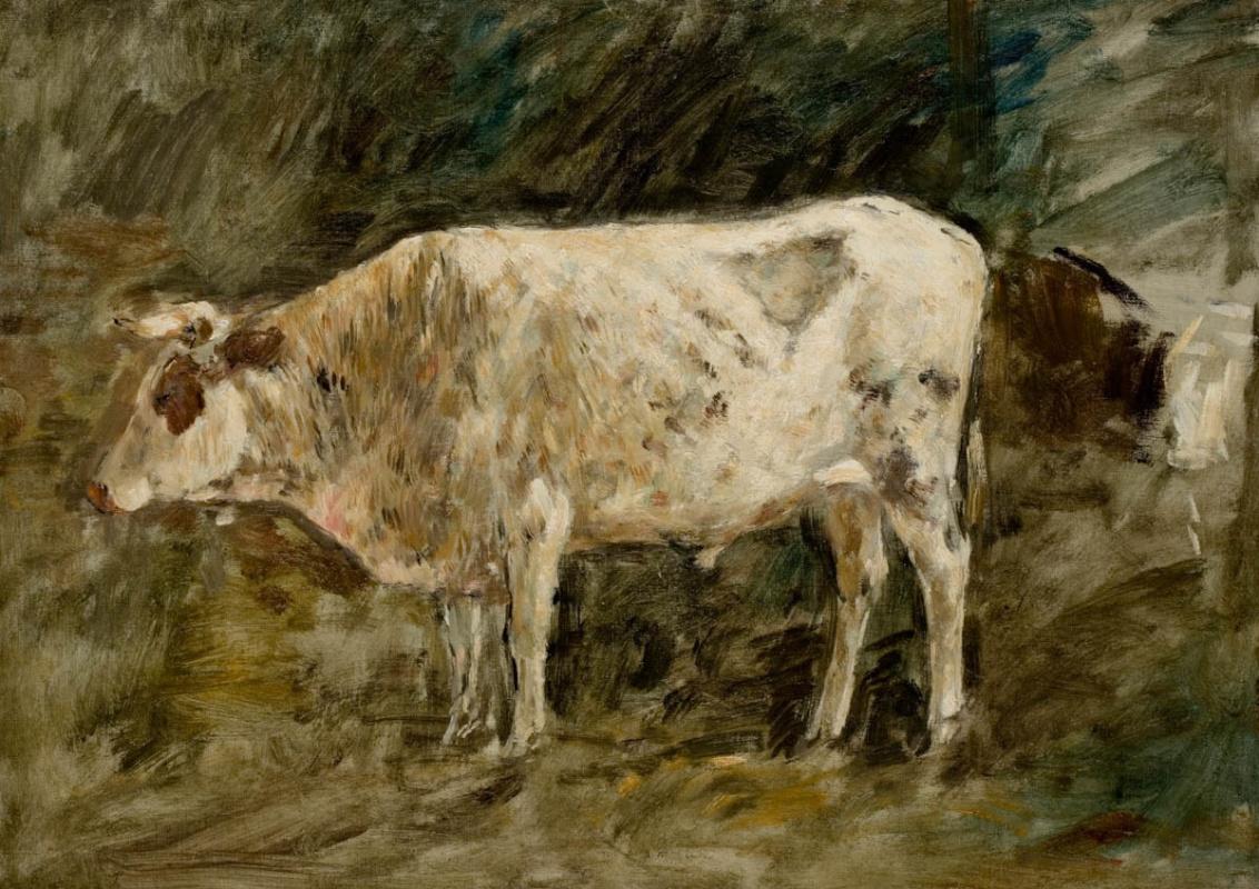 Эжен Буден. Белый бык