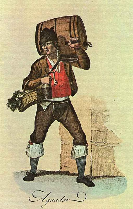 Хуан де ла Крус Кано-и-Ольмедилья. Продавщица воды из Астурии