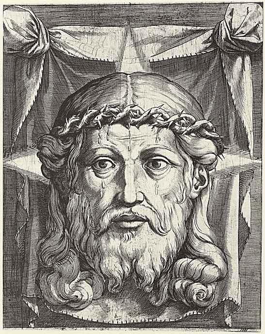 Агостино Карраччи. Плат святой Вероники