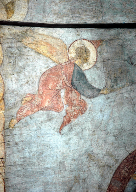 Andrei Rublev. The last judgment: the angel
