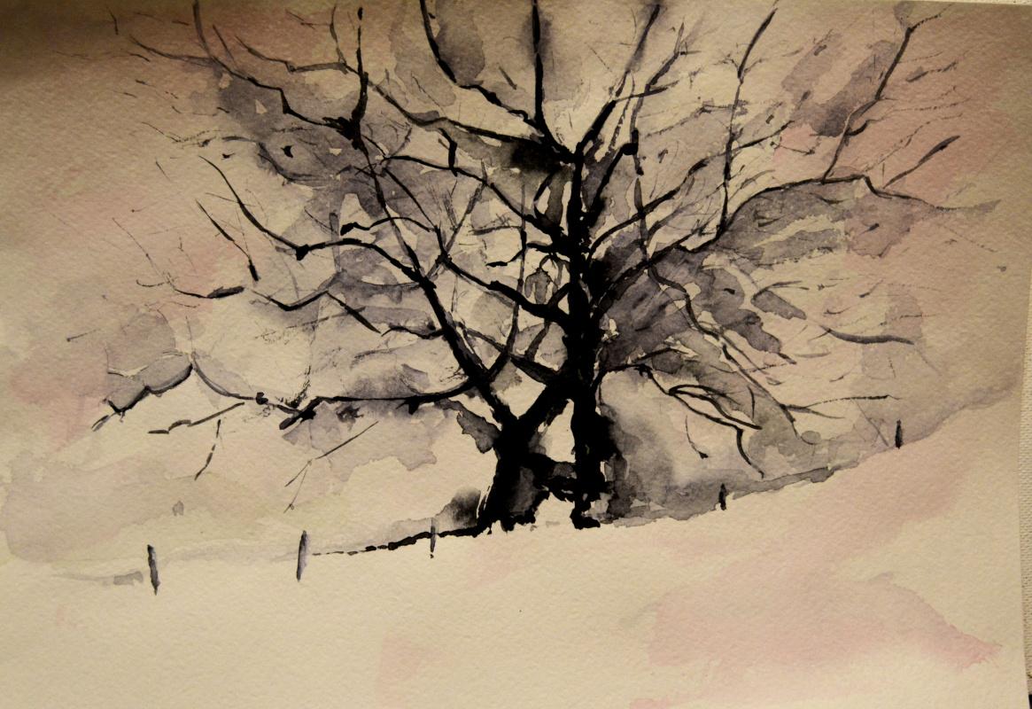 Tatyana Berlizova. Winter.