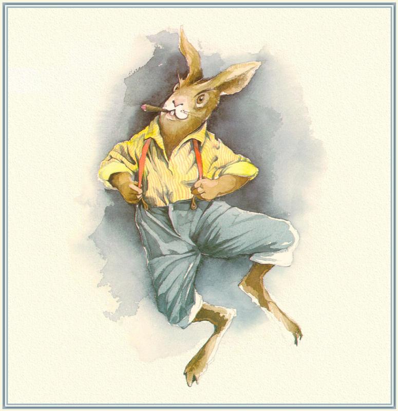 Барри Мосер Брер. Кролик с сигарой