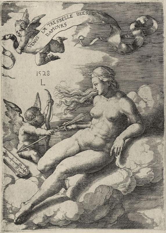 Лукас ван Лейден (Лука Лейденский). Венера и Амур