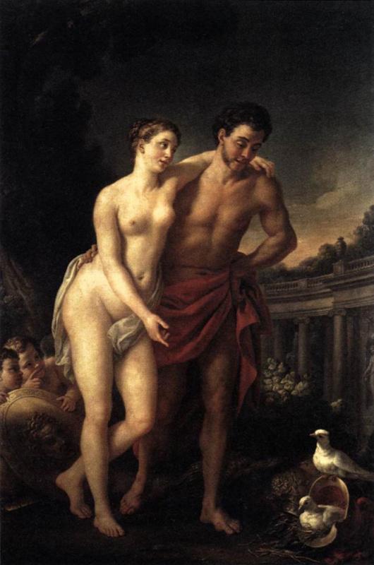 Жозеф-Мари Вьен. Марс и Венера