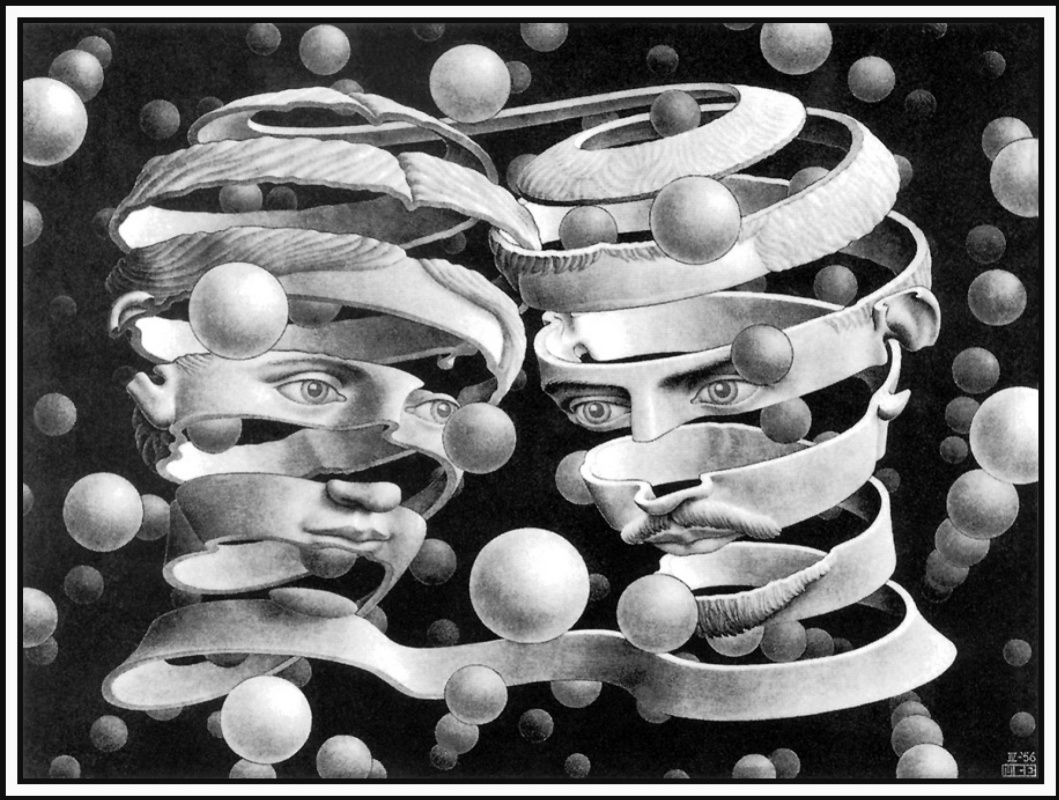 Maurits Cornelis Escher. Bond of unity