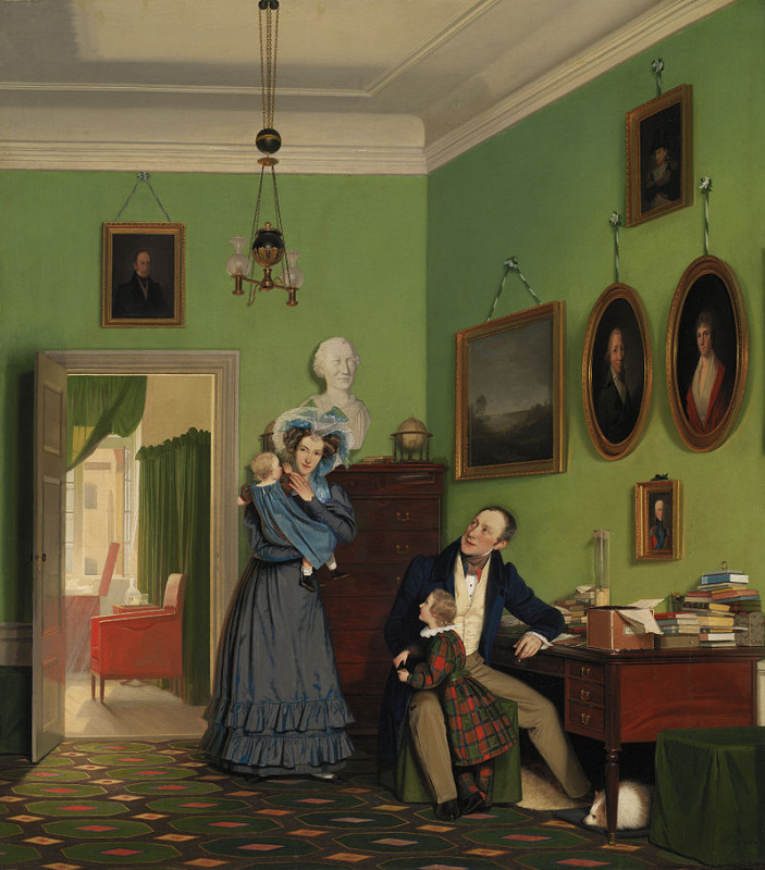 Wilhelm Bendz. The Vaagepetersen family