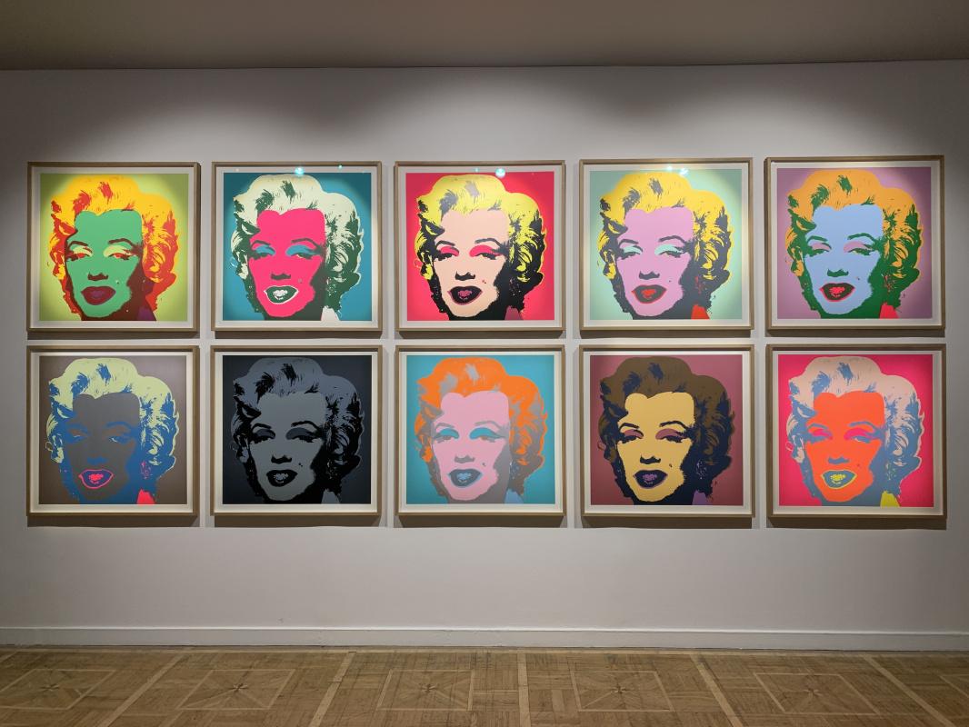 Andy Warho. Marilyn