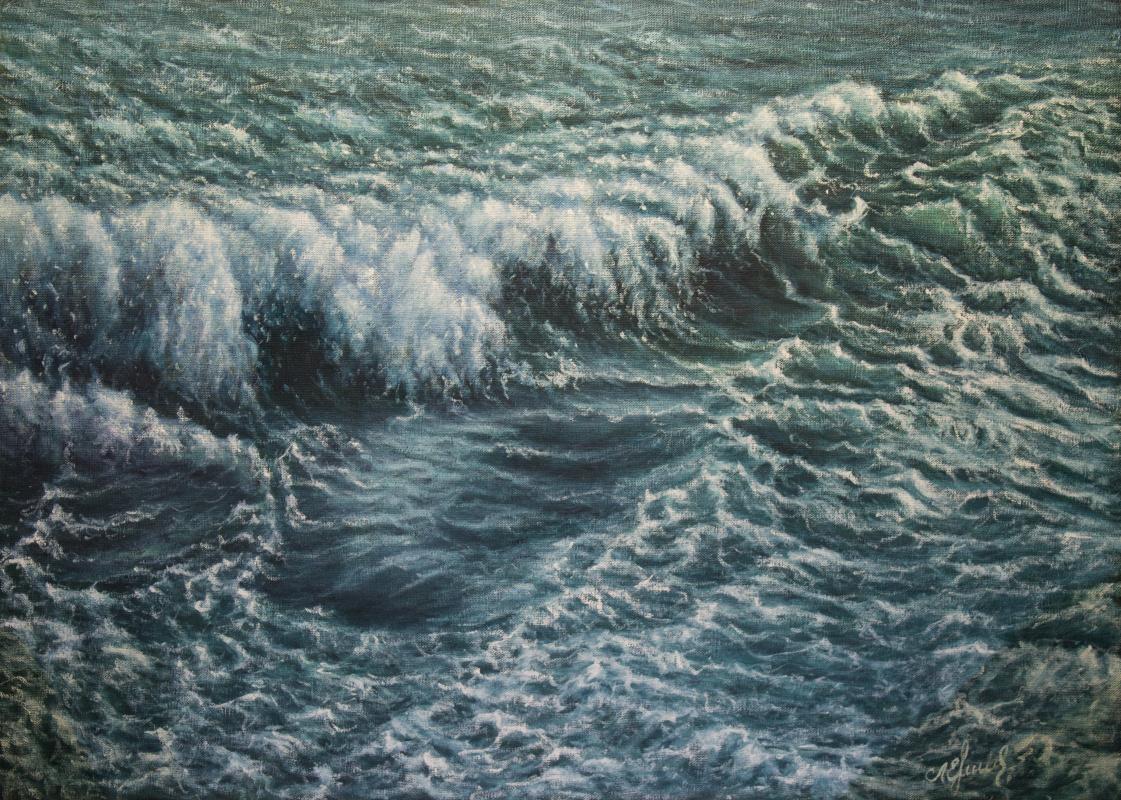 Valery Levchenko. No. 491 Seascape.