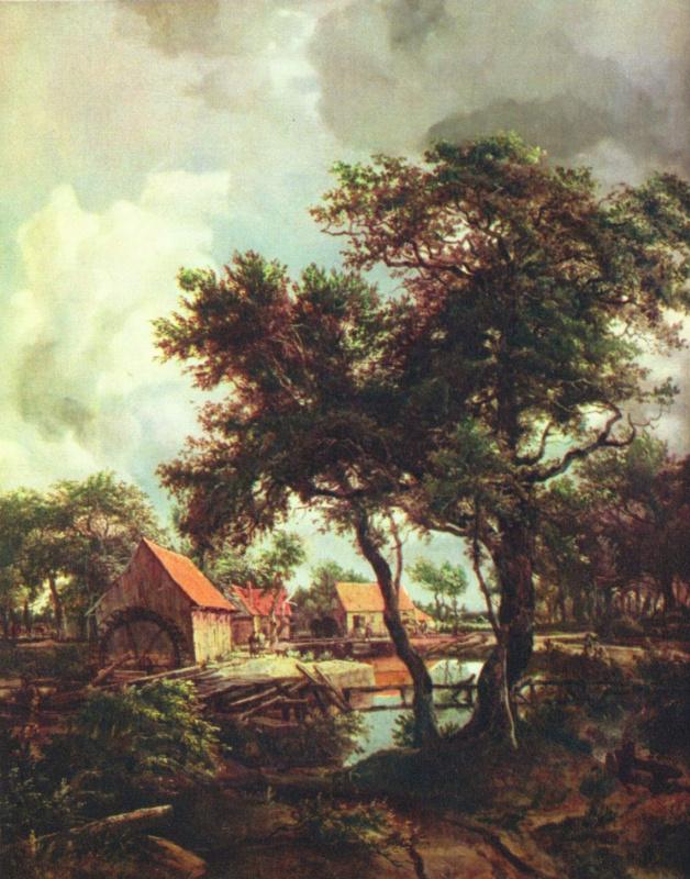 Maydert Hobbema. Mill