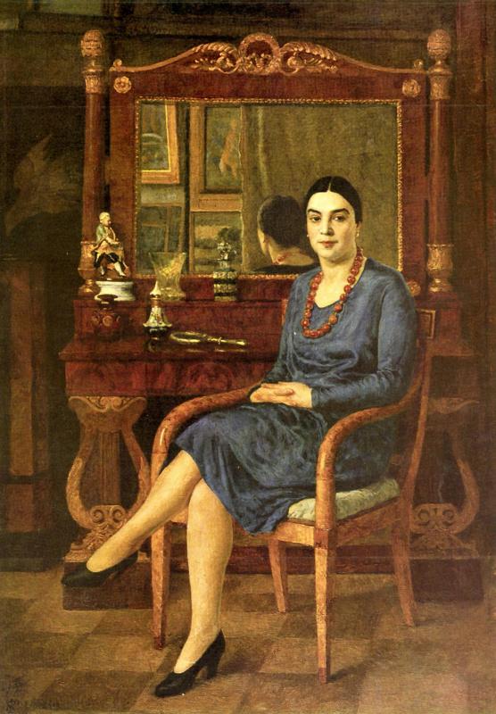 Ilya Ivanovich Mashkov. Portrait Of Z. D. R.