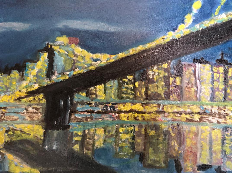 Sergey Vladimirovich Sebini. The Brooklyn Bridge