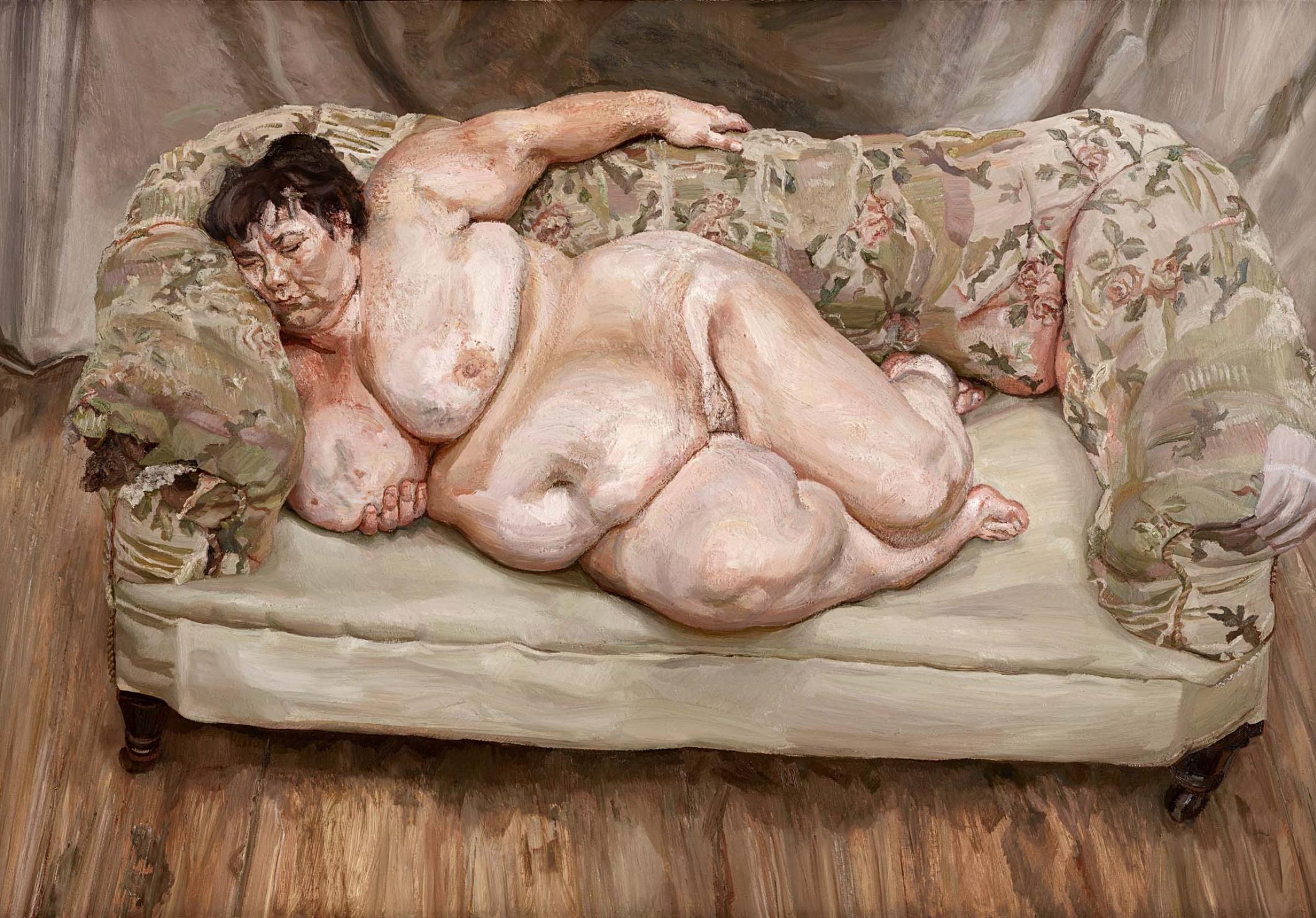 Люсьен Фрейд. Социальный смотритель спит