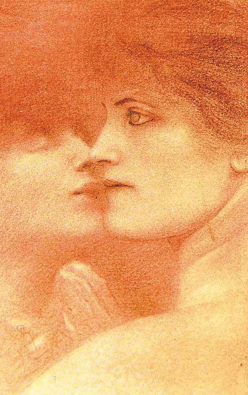 Fernand Khnopff. Tenderness