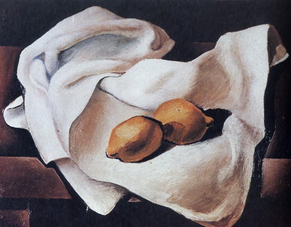 Salvador Dali. Still life with two lemons