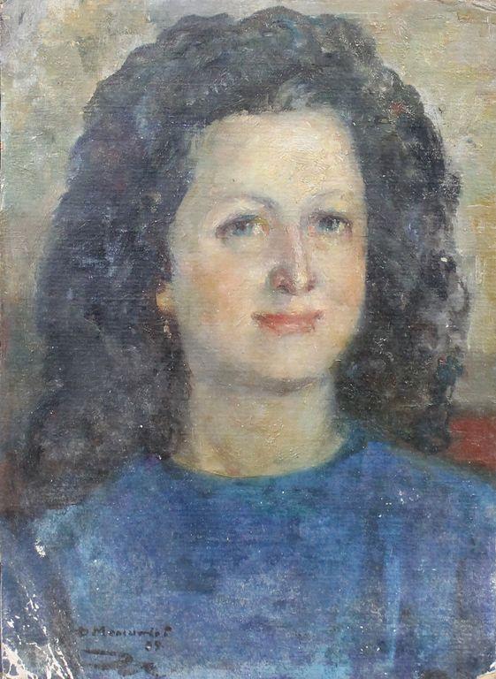 Fedor Fedorovich Melnikov. Olya Rubinchik