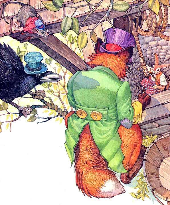 Дон Дэйли. Иллюстрация к сказке Братец Кролик 010