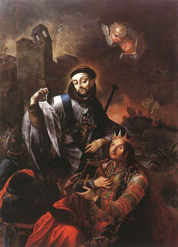 Иоганн Лукас Краккер. Святой Франциск