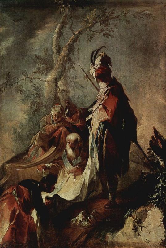 Апостол Филипп крестит евнухов
