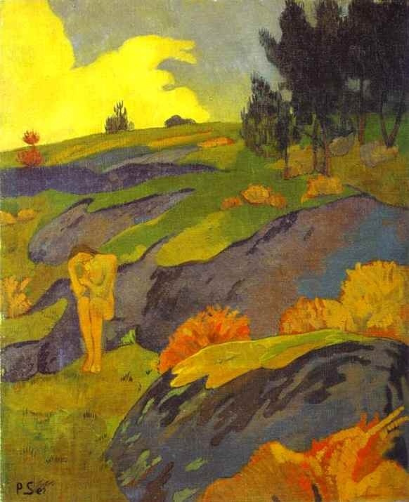 Paul Sérusier. Breton Eve (Melancholy)