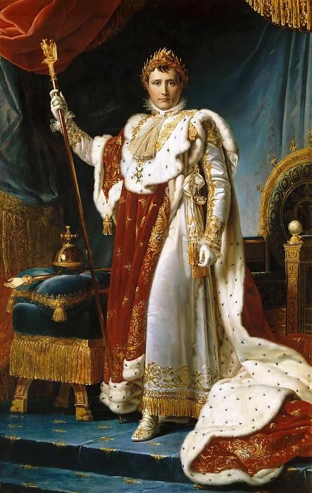 Наполеон в коронационном одеянии