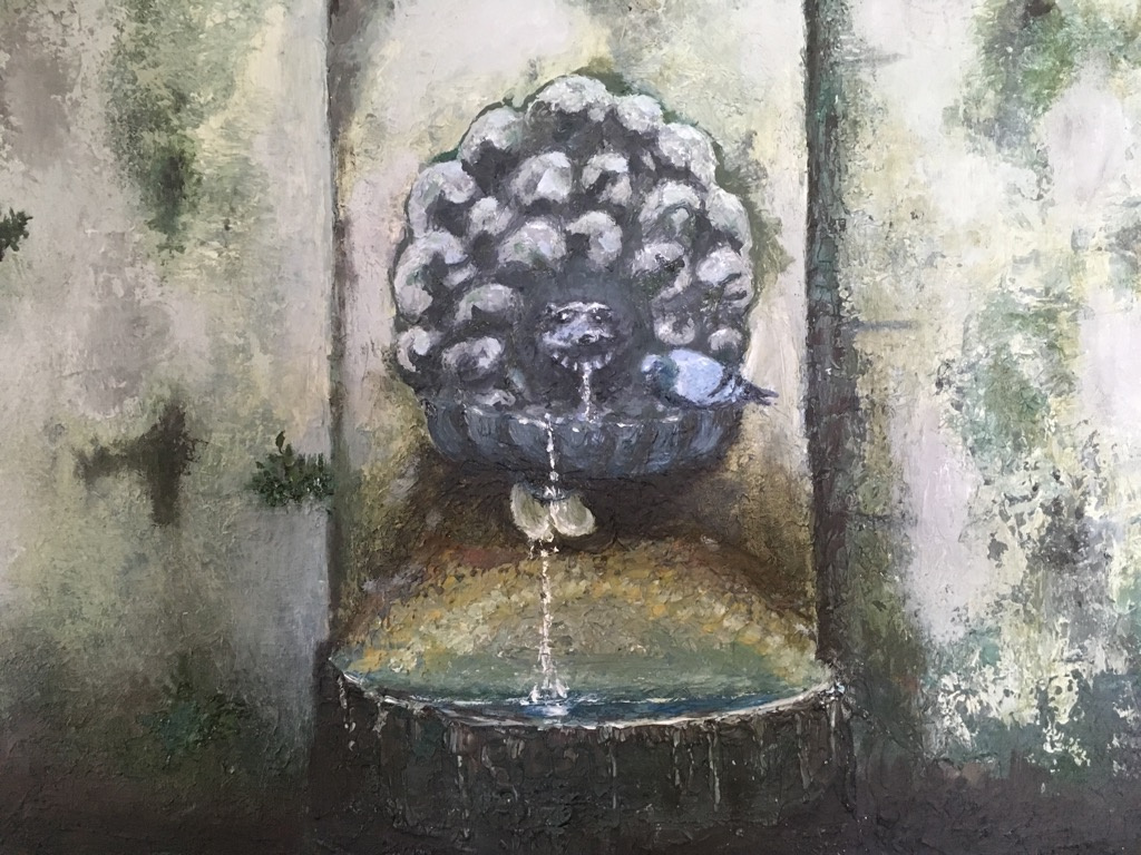 Larisa Benko. Drinking fountain in Borghese park